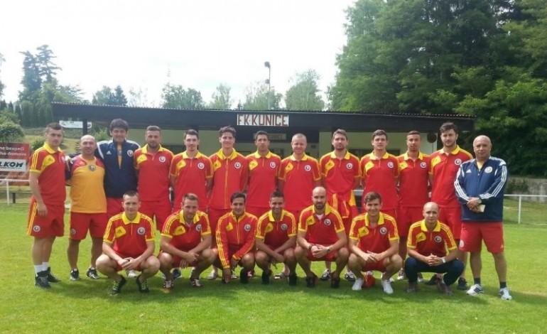 Naționala jucătorilor fără contract, dublă cu Bulgaria