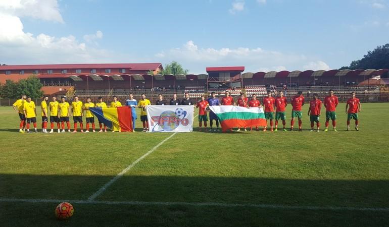 Naționala jucătorilor fără contract din România a învins din nou Bulgaria cu 2-0