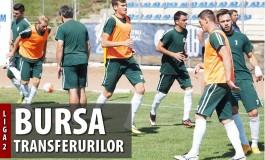 Transferurile înregistrate la FRF de echipele din Liga a 2-a