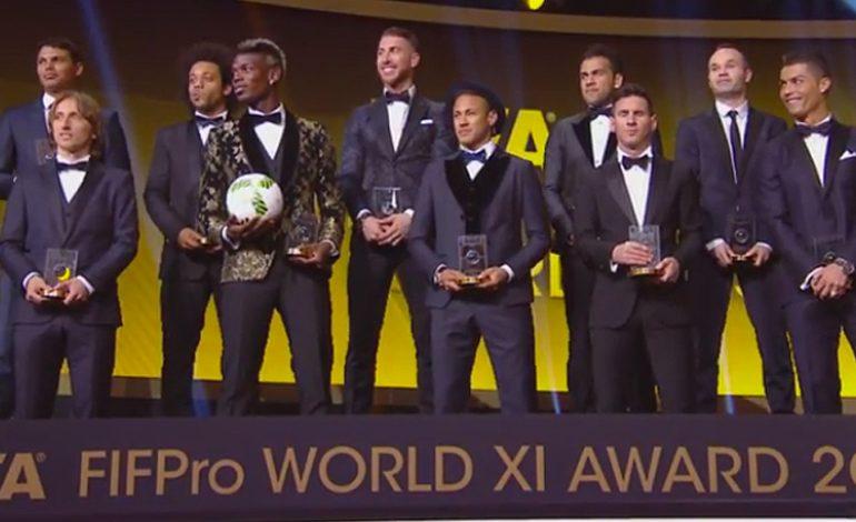 Fotbaliștii din România votează FIFA/FIFPro World XI 2016