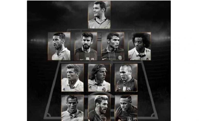 World XI: 9 jucători de la FC Barcelona și Real Madrid