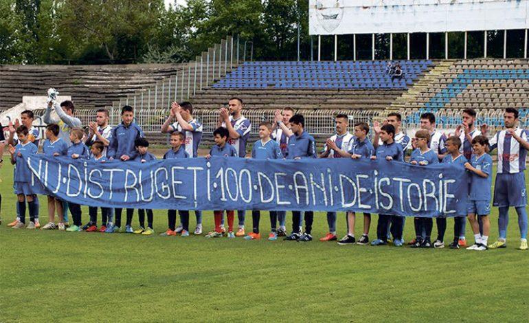Fotbaliștii Daciei Unirea Brăila fac apel pentru salvarea echipei