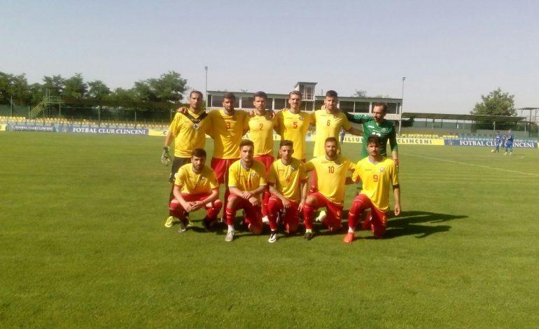 Naționala fotbaliștilor fără contract a câștigat amicalul cu juniorii lui FC Clinceni