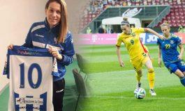 Laura Rus: În Coreea de Sud, jucătoarele de fotbal au condiții de pregătire ca ale băieților