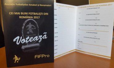 Fotbaliștii votează pentru premiile AFAN