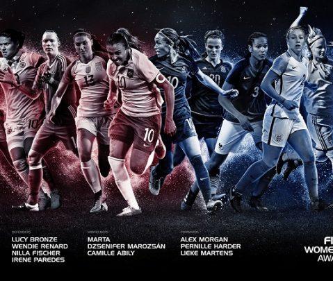 Echipa ideală World XI din fotbalul feminin