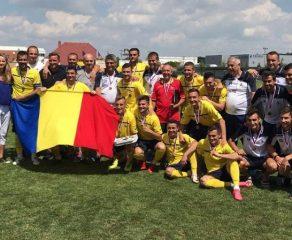 """Naționala fotbaliștilor fără contract, """"bronz"""" la turneul din Cehia"""