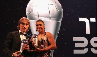 Gala FIFA: Modric și Marta, cei mai buni!