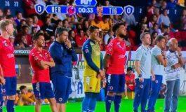 Fotbaliștii lui Velacruz nu au jucat 7 minute în semn de protest