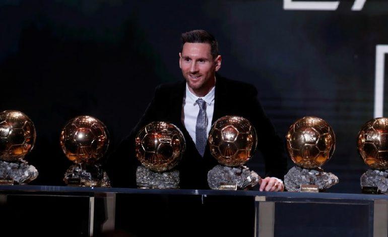 Lionel Messi a câștigat cel de-al șaselea Balon de Aur din carieră