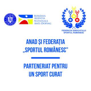 Parteneriat ANAD – Federatia Sportul Romanesc !