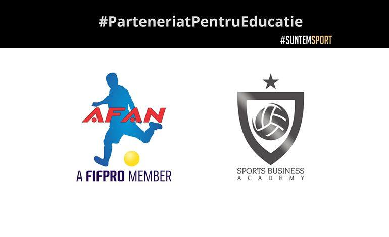 Parteneriat pentru educație AFAN – Sports Business Academy