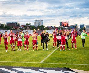 Mesaj al fotbaliștilor de la Dinamo către suporterii dinamoviști
